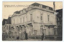 Ste-Adresse ,Le Havre, Ministerie Van Oorlog, België, Militaire Post - Sainte Adresse