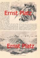 170 A Ernst Platz Hütten Des D.u.Ö.Alpenverein Artikel Mit 9 Bildern 1910 !! - Historische Dokumente