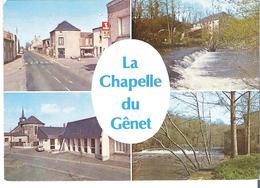 LA CHAPELLE DU GENET. CP Multivues - France