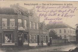 Bourg-Léopold - Vue Sur La Permanence De Police - 1915 - Feldpost - Leopoldsburg