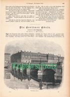 173 Berliner Börse Berlin AG 1 Artikel Mit 8 Bildern Von 1894 !! - Historische Dokumente