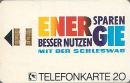 GERMANY K249b/91 Schleswag - Energie - K-Series: Kundenserie