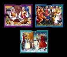 Latvia 2018 Mih. 1061/63 Christmas MNH ** - Lettonie