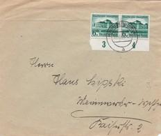 DR Brief Aus Königsberg Nach Marienwerder 1938 - Germany