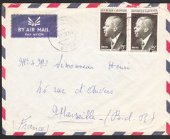 GABON Lettre  De LIBREVILLE 14 Dec 1960 Via Marseille - Gabon (1960-...)