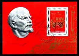 URSS. BF 107 Oblitéré De 1976. Lénine/Parti Communiste. - Lénine