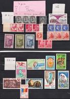 Ex Col Françaises N 20---VOIR Scans-port En Plus - Stamps