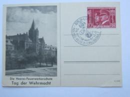 1942 , Berlin - Tag Der Wehrmacht , Sonderstempel Auf Propagandakarte - Deutschland