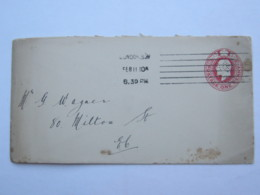1910 , Perforation , Cover With Perfin , Lochung  From London - Great Britain