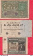 Allemagne 20 Billets Dans L 'état (PRIX DE DEPART MINUS) Lot N °2 - Allemagne