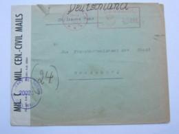 1946 , Internierten Lager OXBOL ( Dänemark)  Brief Aus Dem Lager Nach Rendsburg Mit Zensur - Gemeinschaftsausgaben