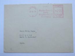 1935 , NÜRNBERG -  Foto   ,  Firmen Freistempel  Auf Brief - Deutschland