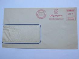 1940 , LEIPZIG -  Schreibmaschinen Olympia,  Firmen Freistempel  Auf Brief (etwas Verkürzt) - Deutschland