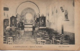 87 St-SORNIN-LEULAC  Intérieur De L'Eglise - Frankrijk