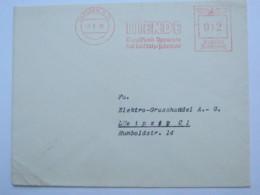 1938  , DRESDEN -  Rundfunk, Radio , Firmen Freistempel  Auf Brief - Deutschland