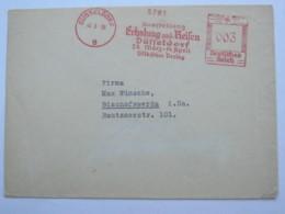 1936 , DÜSSELDORF - Ausstellung , Firmen Freistempel  Auf Brief - Deutschland