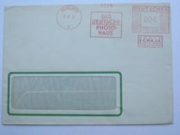 1933 , MÜNCHEN  -  Foto  , Firmen Freistempel  Auf Brief - Deutschland