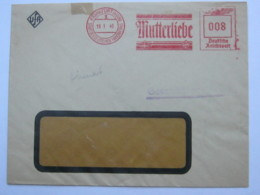 1940 ,. Frankfurt -   UFA  Film  Mutterliebe, Firmen Freistempel  Auf Brief - Deutschland