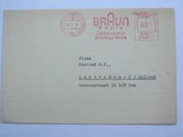 1938  ,. Frankfurt -   Braun Radio - Plattenspieler    , Firmen Freistempel  Auf Brief - Deutschland