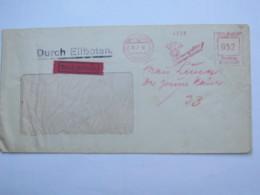 1942  ,. Frankfurt -   Deutsch Italienische Filmunion  , Firmen Freistempel  Auf Brief - Deutschland