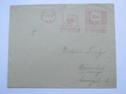 1933    ,. Frankfurt -   Spielkarten  , Firmen Freistempel  Auf Brief - Deutschland