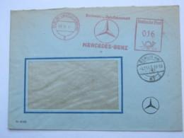 1947 , BERLIN - Mercedes PKW , KFZ, Firmen Freistempel  Auf Brief - Gemeinschaftsausgaben