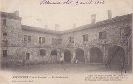 ASTAFFORT : LA GENDARMERIE . - Astaffort