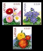 Latvia 2019 Mih. 899V 900V 901IV Definitive Issue. Flora. Flowers MNH ** - Lettonie