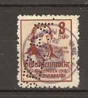 RFA 1956? - Gebührenmarcke - Timbre Fiscal - Freiherr Vom Stein - 8 Dm° - PERFIN - PERFORE - [7] République Fédérale