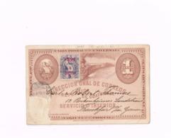 Entier Postal à 1 Centavo. Expédié à FRankfurt/Main (Allemagne) - Guatemala