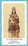 B.V. DEL BAILINO - Santuario Di Levate  - E - PR - Mm. 60 X 105 - Religion & Esotericism