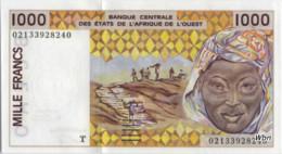 Togo 1000 Francs (P811T) Letter T 2002 Sign.31 -UNC - Togo