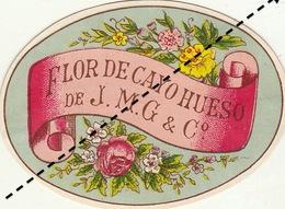 Fin 1800 étiquette Boite à Cigare Cigares - Etiquettes