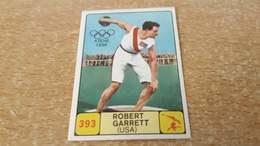 Figurina Panini Campioni Dello Sport 1968 - 393 Robert Garrett - Edizione Italiana