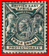 SUID AFRICA SELLO AÑO BRITISH EAST AFRICA QUEEN VICTORIA AND 1896-1903 - Oficiales
