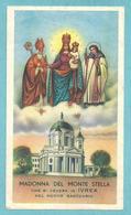MADONNA DEL MONTE STELLA - Santuario Di Ivrea - E - PR - Mm. 60 X 100 - Religion & Esotericism