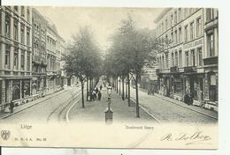 LIèGE   Boulevard Saucy. - Liege
