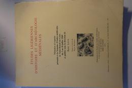 Etudes Ligériennes D'histoire Et D'archéologie Médiévales Sous La Direction De René LOUIS (YONNE) 1969 - Archéologie