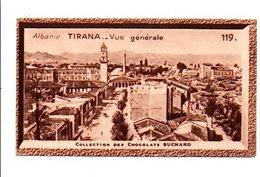 CHROMOS SUCHARD - ALBANIE - VUE GENERALE DE TIRANA - Suchard