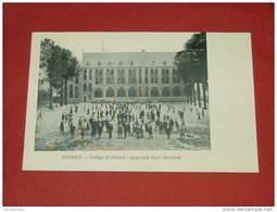 SOIGNIES  -  Collège St Vincent : La Grande Cour (derrière) - Soignies