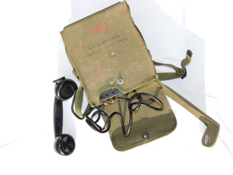 TELEPHONE De CAMPAGNE U.S. Modèle EE.8  SUPER ETAT - Radios