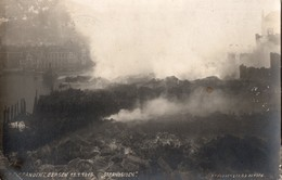 NORVEGE -BERGEN -  Bergensbrannen 15 -1 -1916 - Strandsiden . (Incendie De Bergen Quartier Des Plages)) - Norvège