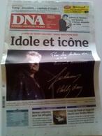Journal DNA Dernières Nouvelles D' Alsace Johnny Hallyday Du 7 Décembre 2017 - 1950 à Nos Jours