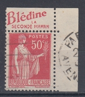 +D3226. France Advertising. Blédine La Sconde Manan. Yvert 283 Type III. Braun 726. Cancelled - Advertising