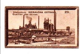 CHROMOS SUCHARD - TCHECOSLOVAQUIE - QUARTIER DES USINES A MORAVSKA OSTRAVA - Suchard