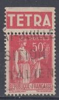 +D3228. France Advertising. TETRA. Yvert 283 Type II. Braun 935. Cancelled - Advertising