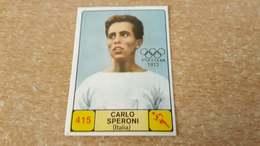 Figurina Panini Campioni Dello Sport 1968 - 415 Carlo Speroni - Edizione Italiana
