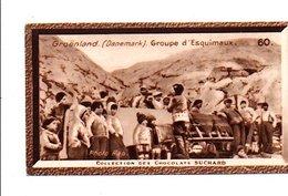 CHROMOS SUCHARD - GROENLAND DANEMARK - GROUPE D'ESQUIMAUX - Suchard