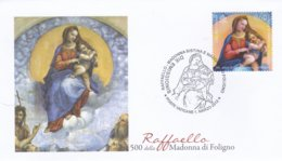 Vatican FDC 2012 Raffaello (0050) - FDC