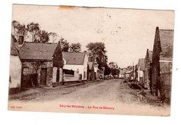 CPA 02 - Sery Les Mézières - La Rue De Senercy - Autres Communes